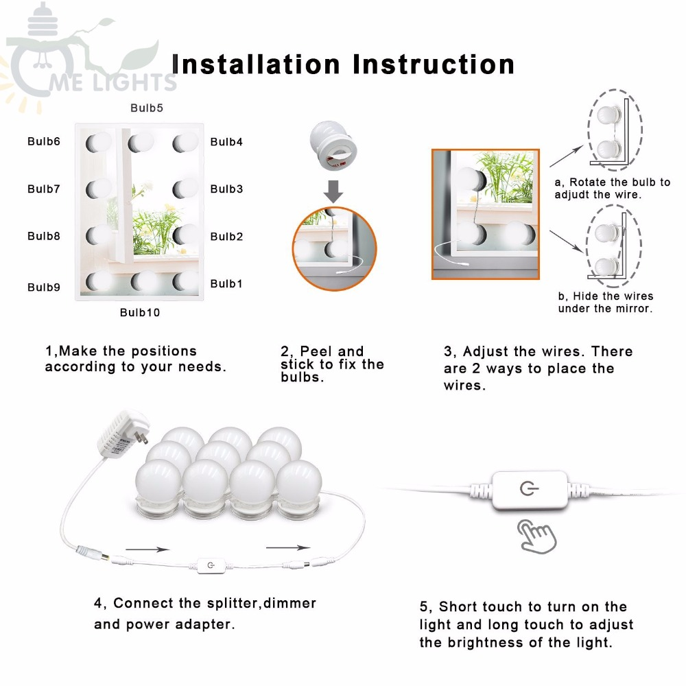 10-Bulbs-Hot-LED-Lighted-Makeup-Mirror-bulbs-String-Stepless-Dimmable-Touch-Control-Hollywood-DIY-Lamp (1)