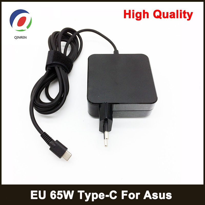 QINERN 20V 3A 65W Type C AC Laptop Charger Power Adapter For ASUS Type C 65W Power Supply For ASUS Laptop