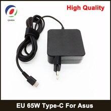 Зарядное устройство USB Type C для MacBook, ASUS, ZenBook, lenovo, dell, Xiaomi, air, HP, Sony, 65 Вт, макс. 60 Вт, 45 Вт
