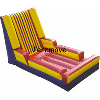 PVC Material Inflatable Sticky Wall Inflatable climbing Wall For Kids Outdoor Activity carnival For Sport Games