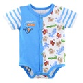 Lovely Cute Baby boys Bodysuits Hot Sale one piece Jumpsuits Brand New 100% Cotton animal