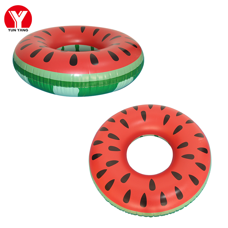 Watermelon Swimming Pool Toy Women Donut Swim Ring Adults Float Toys Inflatable Swimming Ring Donut Inflatable Ring Pool Circle