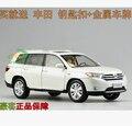 Горячая распродажа горец Toyota 1:18 оригинальный сплав автомобиль модели япония внедорожник сделано в китае черный коллекционирование Prado