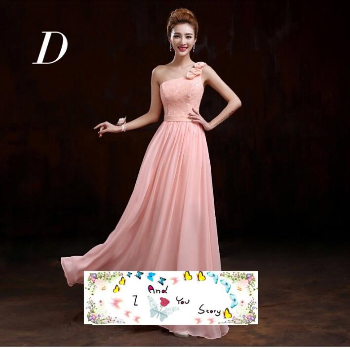 Pastel de melocotón de color rosa la longitud del piso formal ...