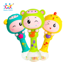 Zodiac Dynamic Rhythm Stick kinderspeelgoed Zandhamer / Early Baby Musical Toys / 5 modes of light magic wand Huile Toys 3101 Gifts