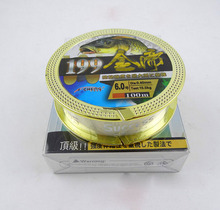 High density Japan Material Wear Super strong nylon thread Rock Fishing 100 /Metres volume  PE Braided Fishing Line
