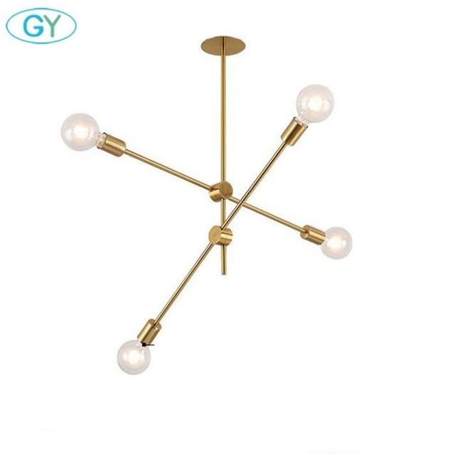 Designer S Lamp Diy Gold Chandelier Light Adjule Res 4 Over