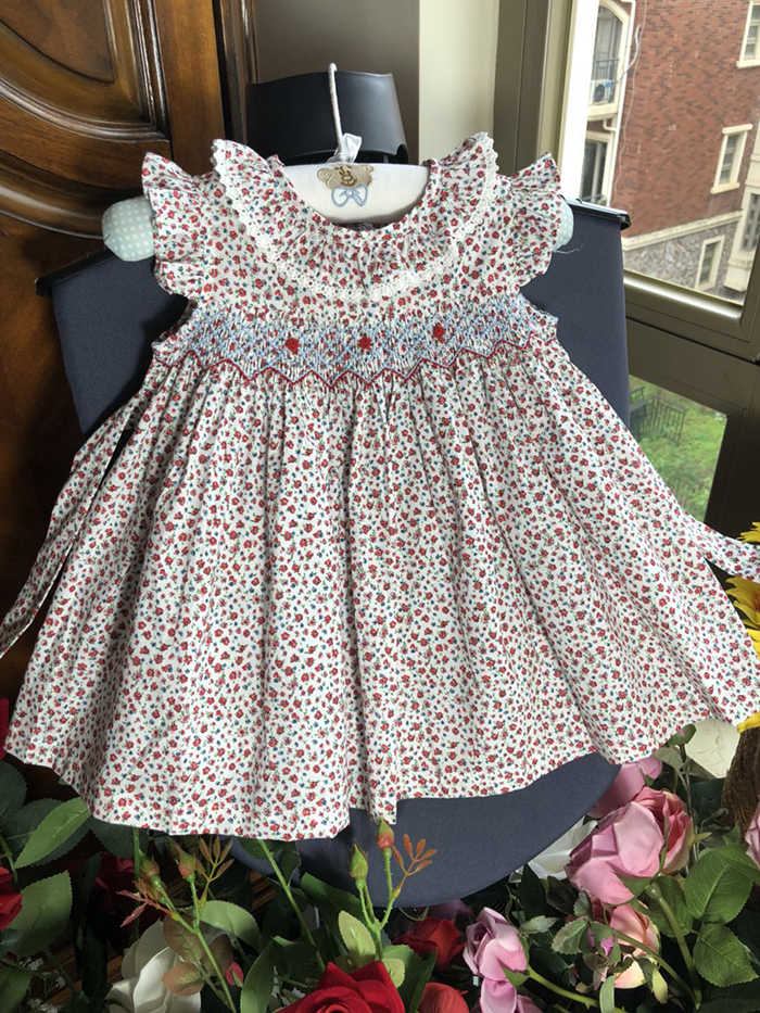 0b242e82332a Detail Feedback Questions about Spring Summer Baby Girl Smocked ...