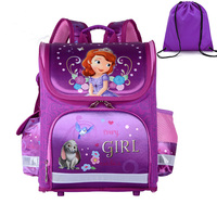 GCWHFL Children School Bags Girls Orthopedic Butterfly Design Princess School Backpack Kids Satchel Knapsack Mochila Infantil