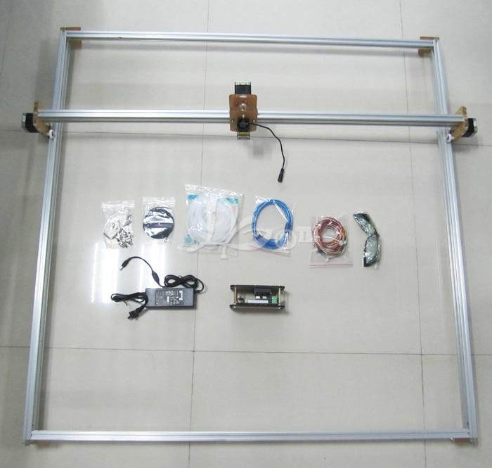 Russia no tax 2500MW Desktop DIY Violet LY M1 Laser Engraving Machine - 4