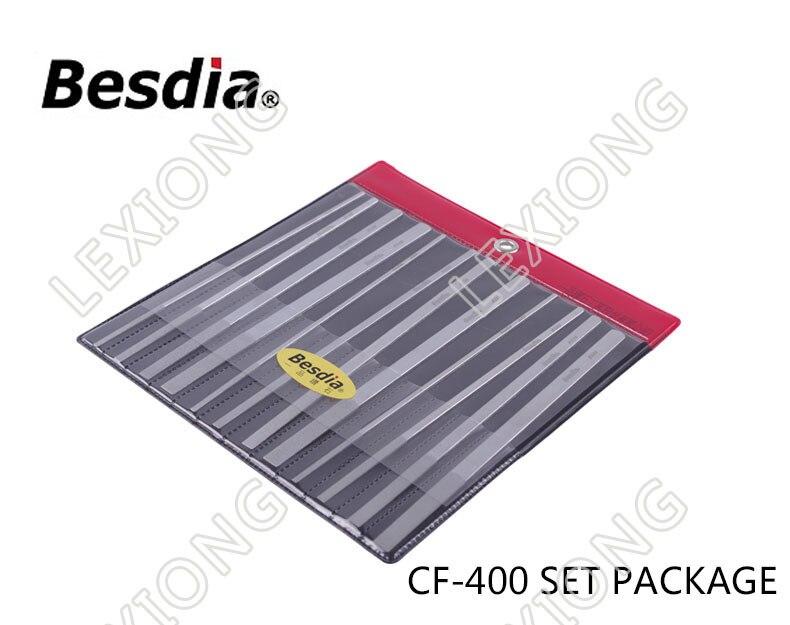 台湾BesdiaダイヤモンドフラットハンドファイルCF-400 - ハンドツール - 写真 6