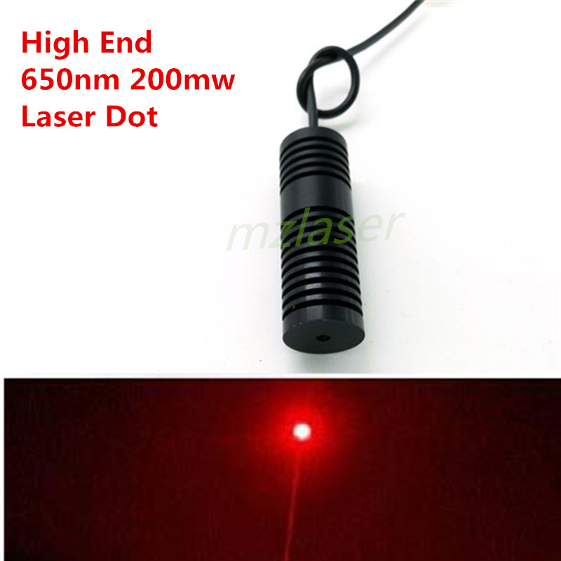 High End 20mm Red 650nm 660nm 200mW  Laser  Module Industrial Grade ACC Control small spot high quality glass lens 10mw 650nm red laser module point aiming laser lamp