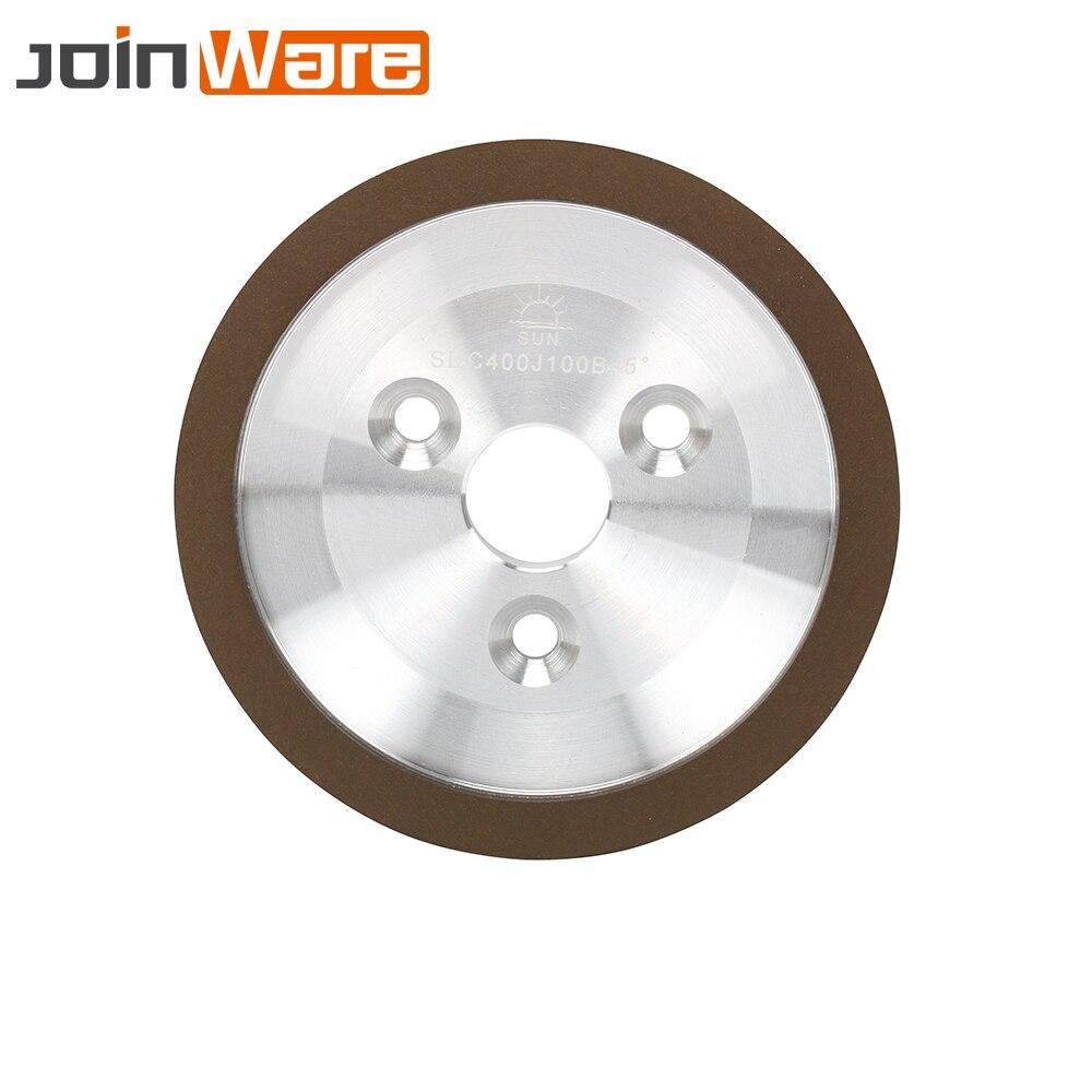Meule diamantée de 5 pouces 240 320 meuleuse de coupe de grain 400 pour carbure céramique moulin outils électriques accessoires livraison gratuite