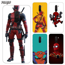 Heart Silicone Case For Xiaomi Pocophone F1 Mi 5S Plus 5X 6X A1 A2 8 lite 9 SE Max 3 Pro Note 2 Cover Funny Marvel Batman Chibi
