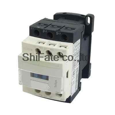 380V Coil Motor Controller AC Contactor 3 Pole NO N/O 690V 10KW LC1D18 Q7C