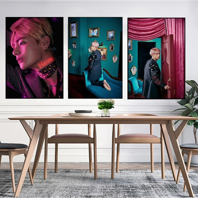 NEW Bangtan Boys BTS Poster Clear Image Wall Stickers Home Decoration Good Quality Prints White Coated Paper home art Brand B15