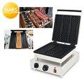 Корейский длинный вафельница машина 110В 220В мороженое пиццы вафельница Железный Бейкер пластины делая тарелки
