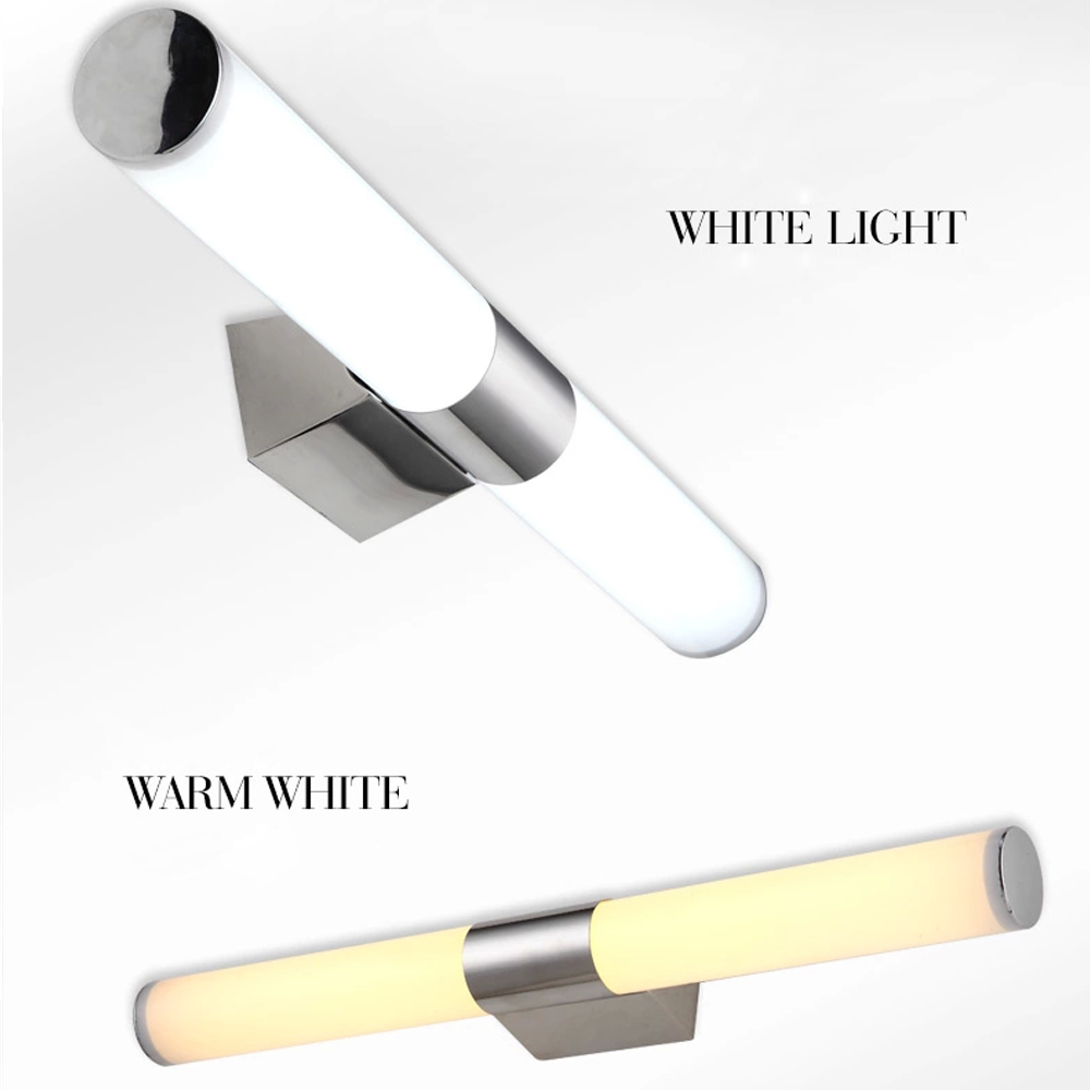 Waterproof Bathroom Wall Sconces : 2016 new modern brief aluminum cob led wall light make up lighting bathroom under cabinet lights ...