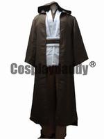 Star Wars Jedi Master Obi Wan/Ben Kenobi Cosplay Tunic Suit Costume Custom made