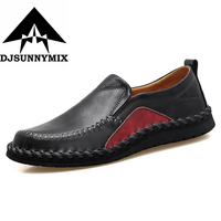 Plus Size 38 47 Men Handmade Fashion Shoes 100 Genuine Leather Luxury Mens Casual Shoes Soft