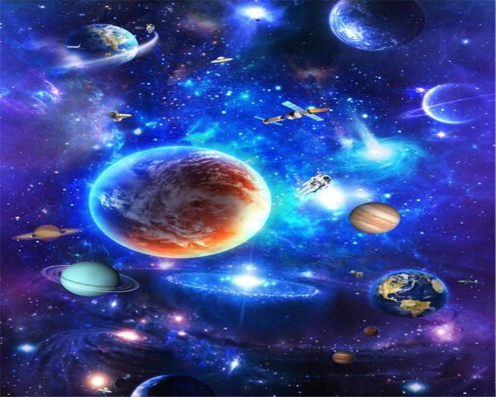 Beibehang Decorative Painting Wallpaper Interior Creative Stars  -> Imagens Do Universo Para Papel De Parede