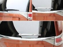 For Mitsubishi Outlander EX 2013 2014 ABS Chrome font b Car b font Rear window wiper