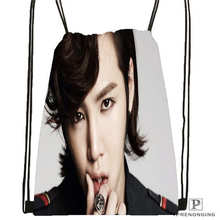 Custom jang-geun-suk_  Drawstring Backpack Bag for Man Woman Cute Daypack Kids Satchel (Black Back) 31x40cm#20180611-03-138