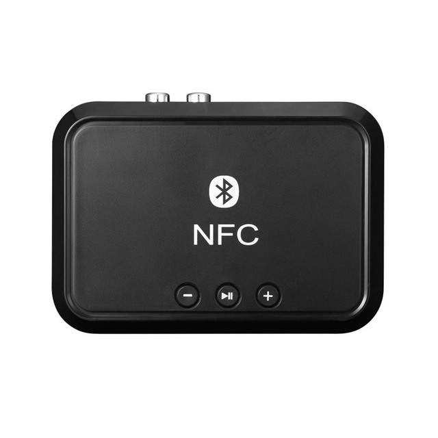 Wireless Bluetooth 4.1 RCA 3.5mm Speaker NFC Stereo Audio Music Receiver Adapter for Smartphone