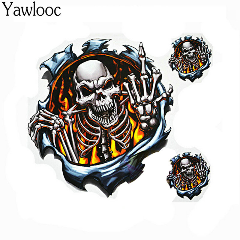 Back To Search Resultsautomobiles & Motorcycles Vinyl Wolf Head Decals Skull Head Fire Flame Funny Eagle Clown Sticker For Motorcycle Car Door Stickers Truck Helmet Decor Zg15