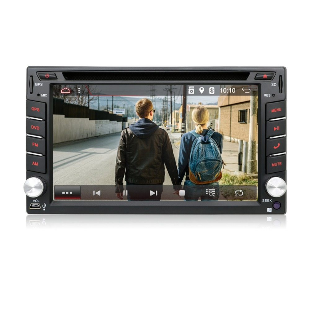Excellent Android 7.1 Quad Core With Car DVD Player GPS Navi For Toyota RAV4 Corolla Hilux For Universal Car Radio Touch Screen Car Stereo 3