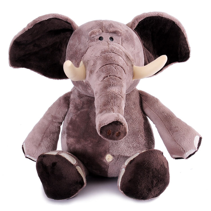 1pcs 10 25cm Genuine Nici Plush Toy Plush Elephant Popular Toy For Kids Stuffed Animal Soft Doll Anime brinquedos Free Shipping стоимость