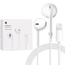 Apple Earpods Lighting Connector & 3.5mm Plug Earphone Inline Control Deeper Ric