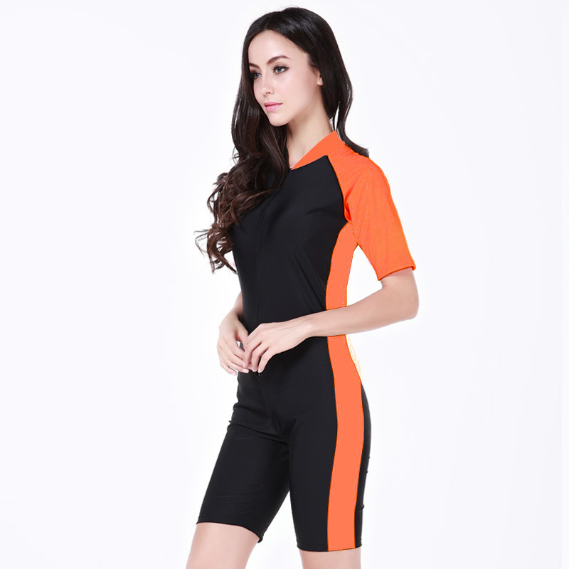 abff88d79 women swimsuit Wetsuit sunscreen Snorkel Diving Suit woman Swimming swimwear  Wet Suits Dive Skins Rash Guard plus XXL-in Body Suits from Sports ...