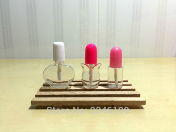 4ML/10ML 100pcs/lot DIY Plastic Empty Lip Gloss Bottle, Empty Clear Liquid Lipstick Refillable Container, Lip Makeup Tool
