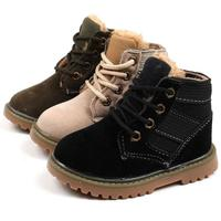 Tree Wrasse Children Cotton Shoes Winter Kids Plush Ankle Snow Boots New Style Boys Girls Martin