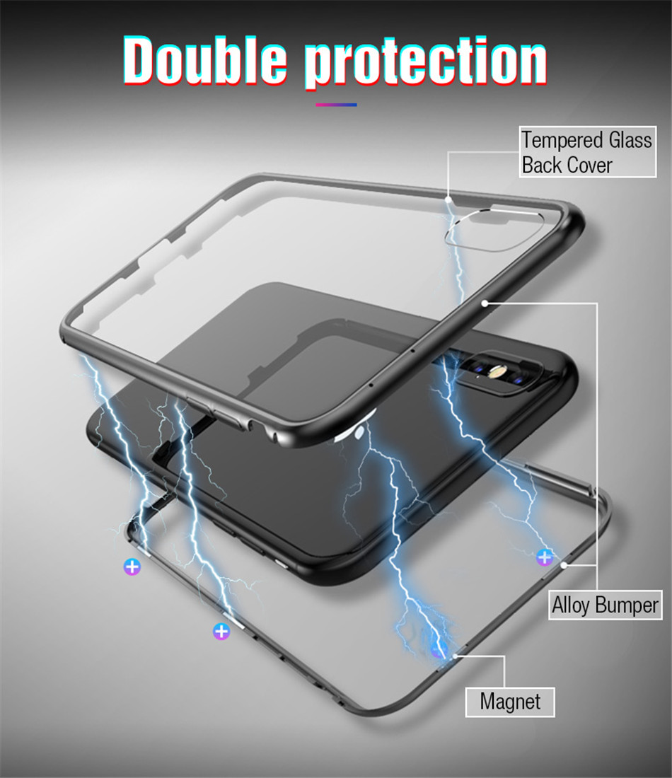 iphone x xs max Magnetic case 03