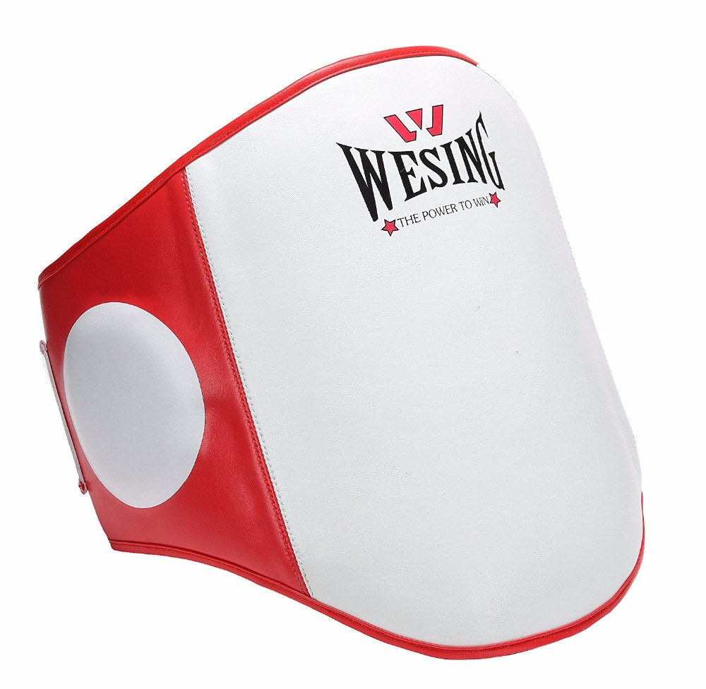 Wesing Sports Dome Air Tech Boxing Muay Thai MMA Training Kick Shield Rib Guard Body Protector Belly Pad wesing aiba approved boxing gloves 12oz competition mma training muay thai kickboxing sanda boxer gloves red blue