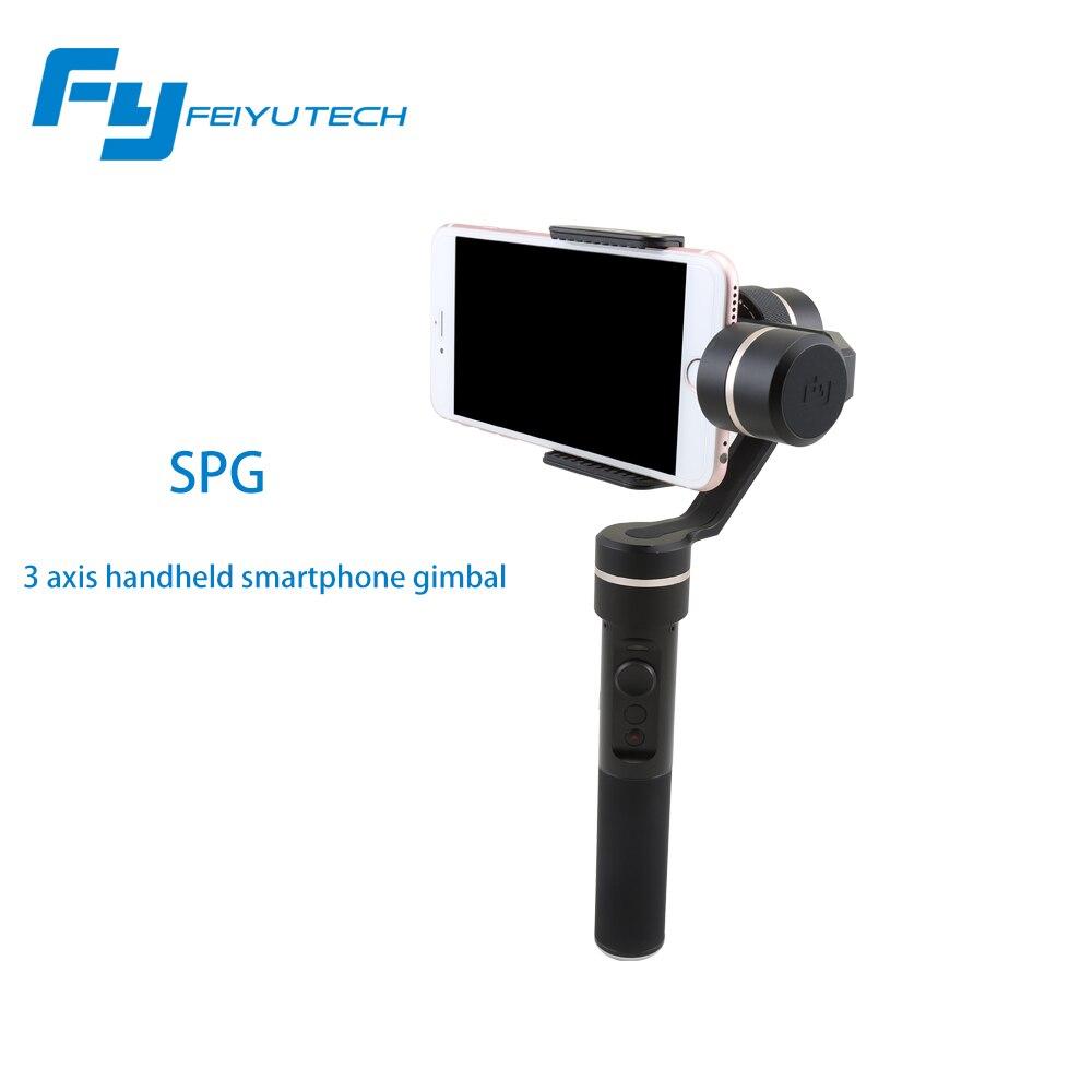 Feiyu Tech SPG Handheld Stabilizer Gimbal Selfie for Smartphone Action Cameras Gopro 5 Hero 4 <font><b>Xiaomi</b></font> <font><b>yi</b></font> SJ Cams F19235