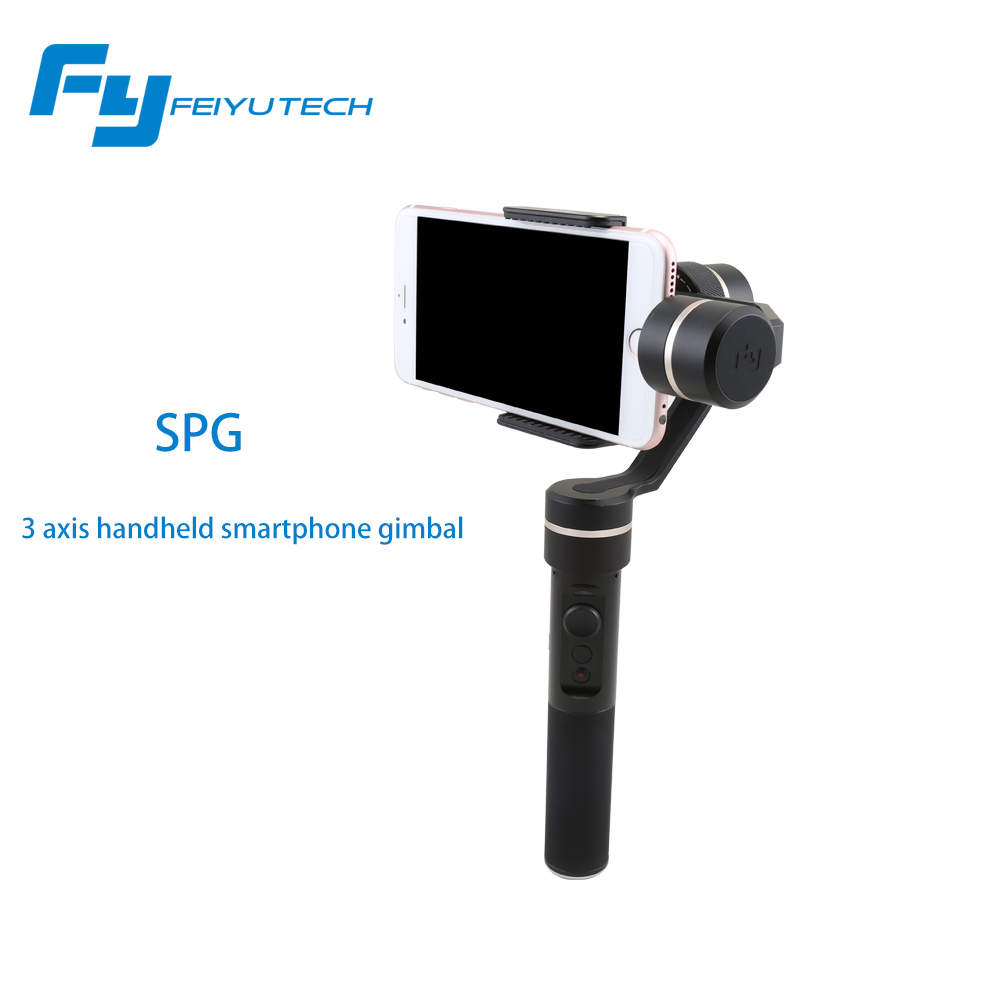 Feiyu Tech SPG Handheld Stabilizer Gimbal Selfie for Smartphone Action Cameras for Gopro 5 Hero 4 Xiaomi yi SJ Cams F19235 цена