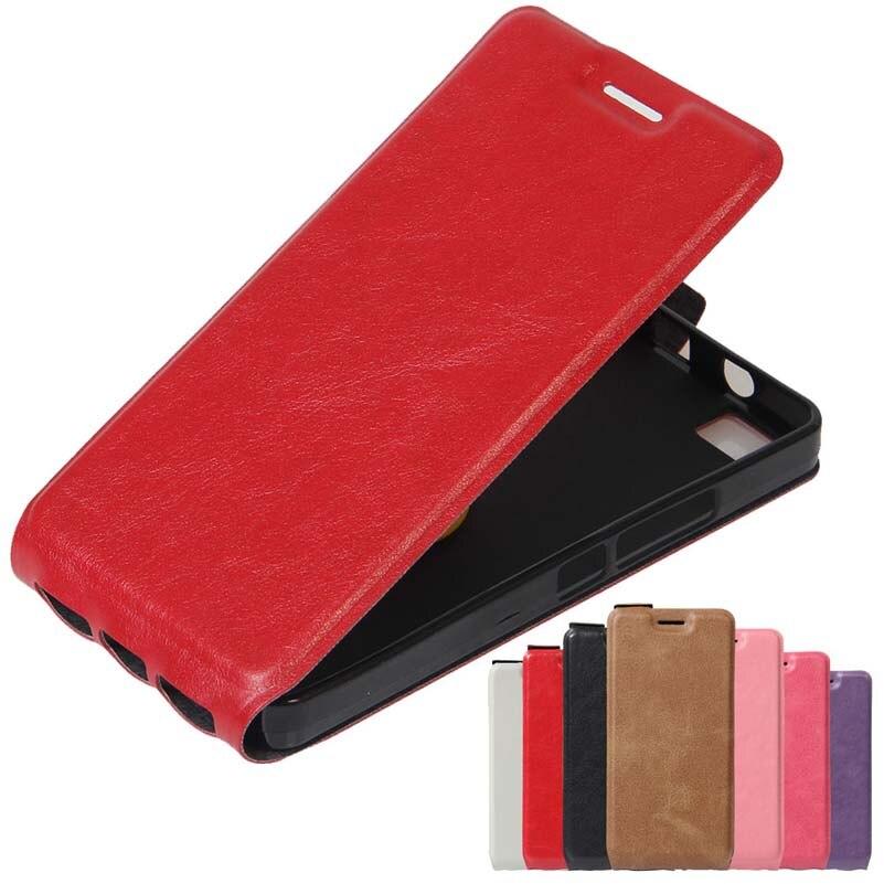 Teléfono del tirón del cuero casos de la cubierta case para bq aquaris a4.5 m5.5