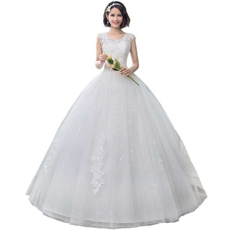 68faffc413f9 Vestidos De Novia De Tul Con Apliques De Encaje 2019 Vestido De Novia De  Encaje Con