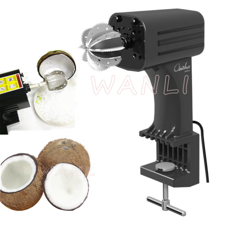 220V / 110V Stainless Steel Commercial Coconut Planer Dug Coconut Meat Planer Tool Fruit Planer Coconut Shredder