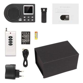 PDDHKK Remote Control Hunting Decoy Goose Duck Multi Sounds Mp3 Bird Sound Loudspeaker Amplifier 10W 123dB Outdoor Bird caller
