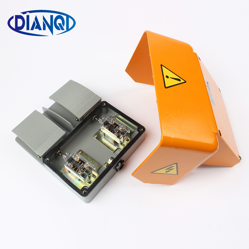 YDT1-18 Foot Switch Pedal Foot Control Switch YDT1-18 double pedal use for bending machine punch wholesale price foot control pedal for welding machine