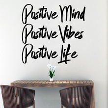 Creative Quote Wall Stickers Vinyl Wallpaper Decor For Living Rooms Bedroom Decoration Decal