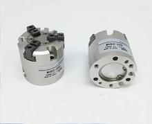 Диаметр 80 мм тип SMC MHS3 серии двойного действия Три пальца пневматический цилиндр воздуха захват