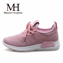 Breathable Mesh Women Sneakers 2018 New Light Runing for Women Comfortable Female Sport Shoes Chaussures Femme Black