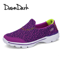 Women Lace Walk Shoes Summer Outdoor Jogging Fitness Sports Shoes for Woman Breathable Lightweight Female Athletic Sneakers