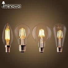 LED Filament Bulb Ampoule Dimmable E27 Retro Edison Lamp 220V E14 Vintage Candle Light