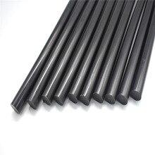 10Pcs 7mm Black Hot Melt Glue Sticks For Electric Glue Gun Craft Album Alloy Accessories Car Dent Paintless Removal Hand DIY Rep